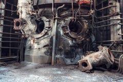Покинутая фабрика Стоковое фото RF