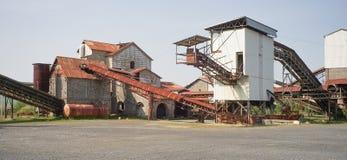 покинутая фабрика Стоковое Изображение RF