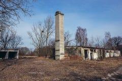 Покинутая ферма в Польше стоковая фотография