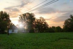 покинутая ферма Стоковая Фотография
