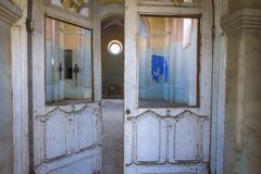 Покинутая церковь в Украине Стоковые Изображения RF