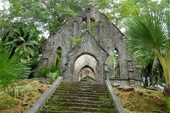 покинутая церковь старая очень Стоковое Изображение RF