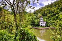 покинутая церковь Стоковые Фотографии RF