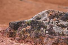 Покинутая шахта боксита Nt ¡ GÃ, Венгрия Стоковая Фотография RF