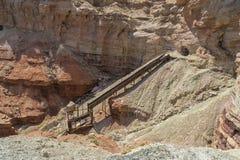 Покинутая шахта пакостного дьявола Uranium в Юте Стоковое Фото
