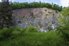 Покинутая шахта утеса Стоковая Фотография