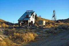 покинутая шахта Стоковые Фото