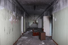 Покинутая школа стоковая фотография rf