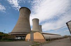 Покинутая Geothermic электростанция Стоковое Фото