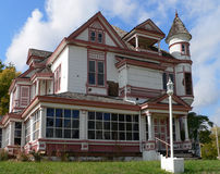покинутое викторианец дома Стоковое фото RF