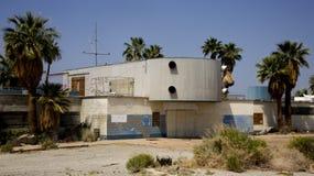 Покинутое здание мотеля Стоковое Изображение