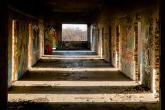 покинутое здание стоковые фотографии rf