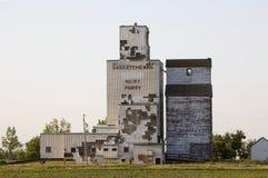 покинутое зерно лифта Стоковые Фото