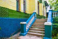 покинутое здание здания старые Стоковая Фотография RF