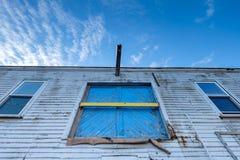 Покинутое здание причала Стоковая Фотография RF