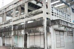 покинутое здание Стоковая Фотография