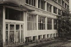 покинутое здание Стоковое Фото