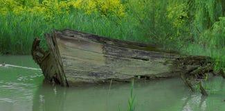 покинутое кораблекрушение Стоковые Фотографии RF