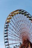 покинутое колесо ferris Стоковая Фотография RF