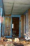 покинутое крылечко дома Стоковые Изображения RF