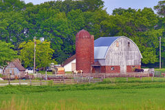 покинутое место фермы Стоковая Фотография