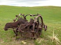 Покинутое оборудование сельского хозяйства. Стоковые Изображения RF