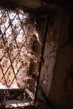 покинутое окно Стоковое Фото