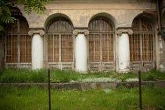 покинутое поместье старое Стоковая Фотография RF