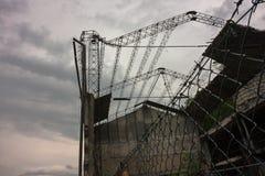 Покинутое промышленное здание Стоковое Фото