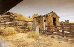 Покинутое ранчо стоковое изображение rf
