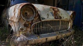 Покинутое ржавое Opel Стоковое Изображение RF