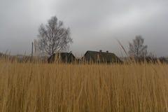 покинутое село России Стоковое Изображение RF