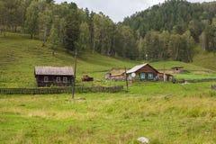 покинутое село Стоковая Фотография