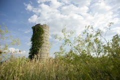 Покинутое силосохранилище Стоковое Изображение RF