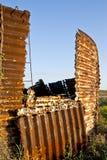 Покинутое силосохранилище Стоковое Фото