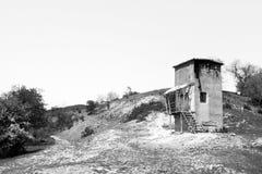 Покинутое укрытие Стоковая Фотография