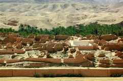 Покинутое vilage в Африке Стоковое фото RF