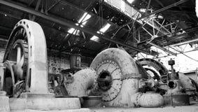 покинутые генераторы Стоковое фото RF