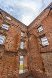Покинутые здания, место Порта Артур историческое, Тасмания Стоковое Изображение