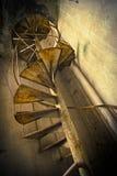 покинутые лестницы Стоковые Фото