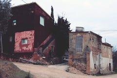 Покинутые дома Стоковые Фотографии RF