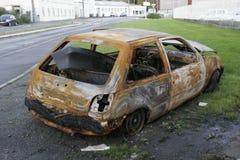 покинутый автомобиль Стоковое фото RF