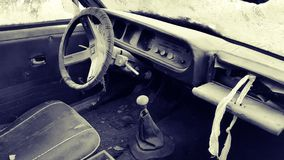 покинутый автомобиль старый Стоковая Фотография