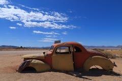 покинутый автомобиль Стоковое Фото