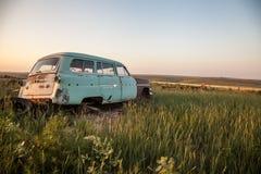 покинутый автомобиль Стоковые Изображения RF