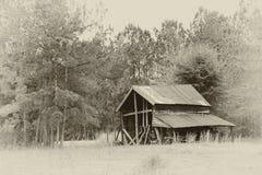 покинутый амбар старый Стоковая Фотография RF