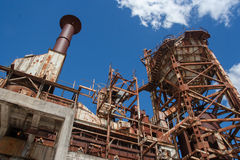 Покинутый взгляд шахты доломита нижний Стоковая Фотография RF