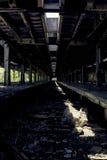 Покинутый вокзал - буйвол, Нью-Йорк Стоковое фото RF