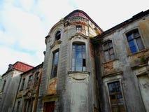 Покинутый дворец в Беларуси Стоковые Изображения