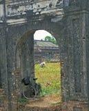 покинутый дворец Стоковое Изображение